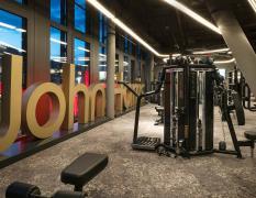 John Harris Fitness Hauptbahnhof